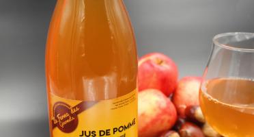 La Ferme Des Gourmets - Lot De 12 Bouteille De Jus De Pomme