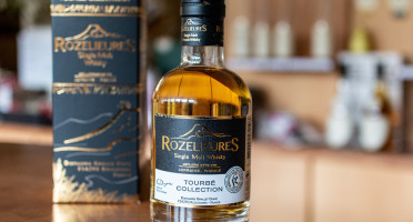 Distillerie de Rozelieures - Maison de la Mirabelle - Whisky Single Malt Tourbé Collection - 20 cl