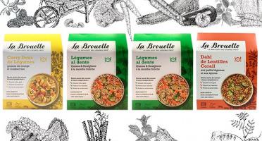 La Brouette - Pour 4 Pers. - Curry Doux  + 2 X Légumes Al Dente  + 1 Dahl De Lentilles