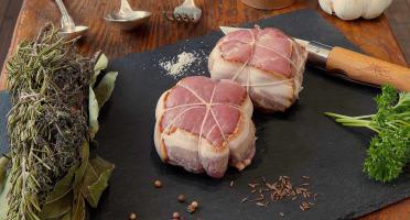 La Ferme du Chaudron - 4 Paupiettes de Porc BIO à la Pomme et Ratafia