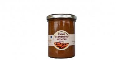 Les amandes et olives du Mont Bouquet - Purée D'amande Entière Grillée 400g