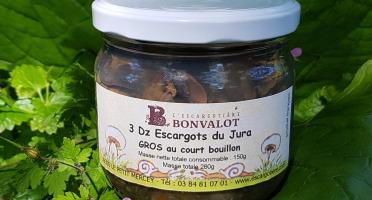 L'escargotière BONVALOT - 3 Douzaines d'Escargots du Jura Gros au Court-Bouillon