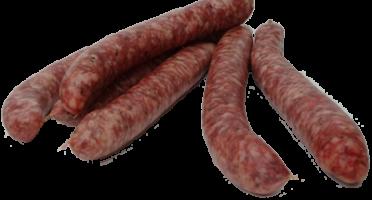 Ferme de Montchervet - Petites saucisses de boeuf x 4, 330g