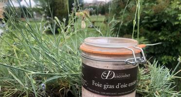 LA FERME DESCOUBET - Foie Gras d'Oie Entier 430g en Conserve