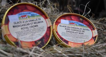Les Glaces de la Promesse - Glace Vanille Madagascar Et Chocolat Extra 2x 500 Ml