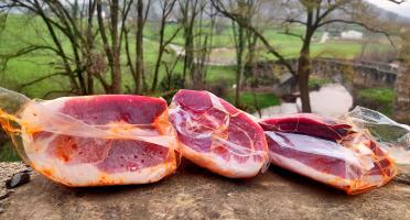 Ferme AOZTEIA - Pavé De Jambon De Porc Kintoa Aop - 24 Mois D'affinage - 900g