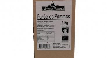 Les Côteaux Nantais - Purée Pommes 3kg