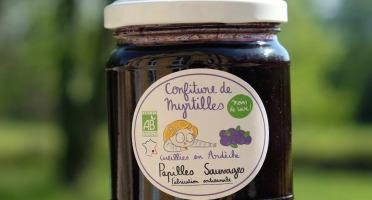 Papilles Sauvages - Confiture de Myrtilles Sauvages d'Ardèche - Bio