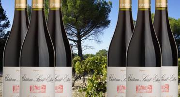 Château Saint Estève d'Uchaux - AOP Côtes du Rhône Rouge Tradition 2018 x6