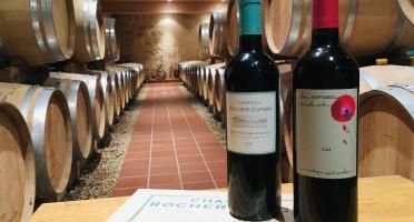 Château Rocher Corbin - AOC Montagne-Saint-Emilion - Château Rocher Corbin 2018 & Promesses De Rocher Corbin 2014 - 3 Bouteilles