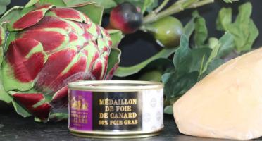 Fontalbat Mazars - Medaillon de foie de canard boite 190gr