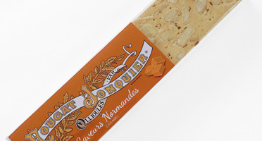 Maison Jonquier - Nougat Blanc Tendre Saveur Caramel Beurre Sale D'isigny