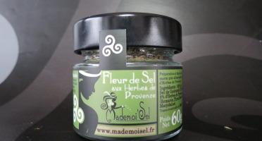 Le Panier à Poissons - Fleur De Sel Aux Herbes De Provence, 100% Sel De Guérande