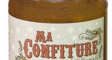 Muroise et Compagnie - Confiture De Noël Pommes, Poires, Noix, Raisins Secs  Et Épices À Pain D'épice
