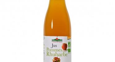 Les Côteaux Nantais - Jus Pommes Rhubarbe 75 Cl Demeter