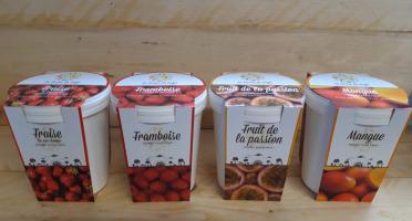 La Ferme du Logis - Assortiment de sorbets : Fraise, Framboise, Passion et Mangue