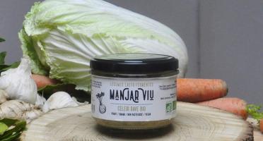 Manjar Viu : Légumes lacto fermentés - Céleri Rave, Pomme, Sésame - Lacto-fermentées BIO - 220g