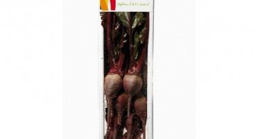 Maison Sales - Végétaux d'Art Culinaire - Mini Betterave - 6 Pièces