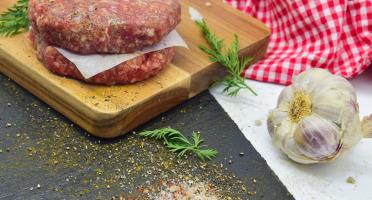 Michel et Alain Fermiers BIO - [SURGELÉ] Steaks Hachés de Bœuf BIO – 2x120 g