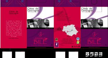 Domaine de Bilé - IGP Vin Côtes de Gascogne Rouge Bib