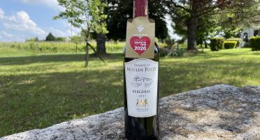 Vignobles Fabien Castaing - AOC Bergerac Rouge Domaine de Moulin-Pouzy Tradition 2018 - 75cl