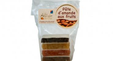 Les amandes et olives du Mont Bouquet - Pâtes d'amandes & fruits 100 g