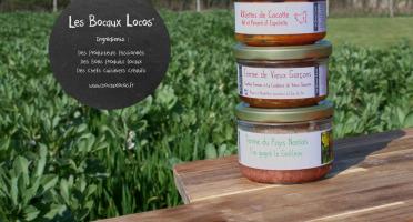 Bocaux Locos - Duo de Terrines de Cochon Plein Air + Rillettes de poule (Les Vintages : Trio Terrines et Rillettes)