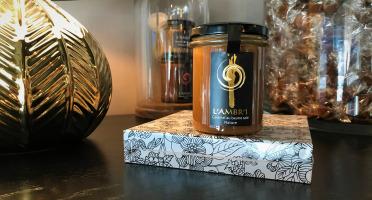 L'AMBR'1 Caramels et Gourmandises - Crème De Caramel Au Beurre Salé Nature - Pot De 220g