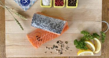 La Criée d'à Côté - Filet de Saumon sur peau ASC* - 1,5 kg