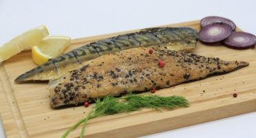 Saumon de France - Maquereaux au poivre fumés à chaud