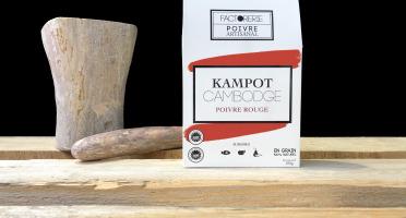 Cafés Factorerie - Poivre Rouge KAMPOT - 100g En Grain