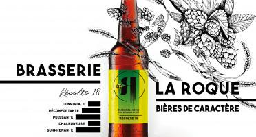 La Roque  Brasserie Bio, paysanne et familiale - Bière Récolte 6x75cl - Brasserie Fermière Bio