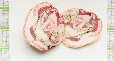 Champ Roi des Saveurs - Pancetta de Porc Cul Noir - 420 g