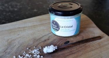 LA FERME DES BALEINES - Le Cristal - Fleur De Sel De Calibre Supérieure - 80 G - Terre Saline