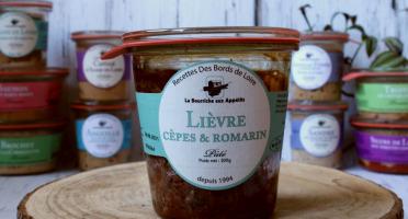 La Bourriche aux Appétits - Pâté de Lièvre Cèpes et Romarin