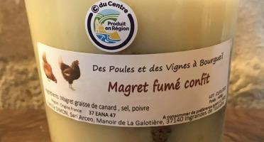 Des Poules et des Vignes à Bourgueil - Magret fumé Confit