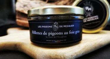 Les Pigeons de Mesquer - Rillettes de Pigeon au Foie Gras