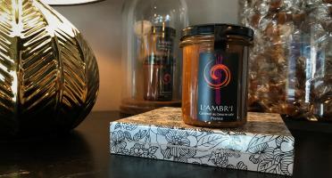 L'AMBR'1 Caramels et Gourmandises - Crème De Caramel Au Praliné - Pot De 220g