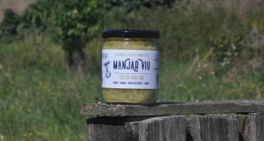 Manjar Viu : Légumes lacto fermentés - Céleri rave, pomme  - Bio - lacto-fermentés - 400 g