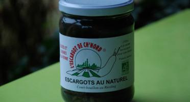 L'escargot de ch'nord - Escargots Naturel Cuisinés Au Riesling, Calibre Gros - 5 X 12