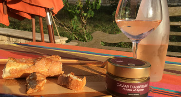 Huile des Orgues - Crème d'Aubergine Poivres et Épices