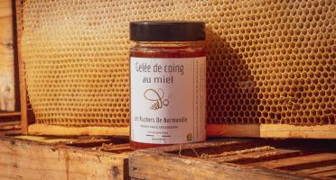 Les Ruchers de Normandie - Gelée de coing au miel 230g