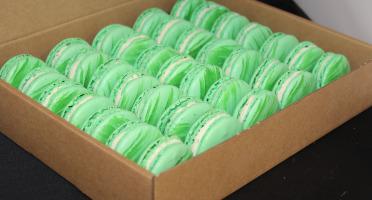 Les Macarondises - 35 Macarons Citron Vert Menthe