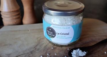 LA FERME DES BALEINES - Le Cristal - Fleur De Sel De Calibre Supérieure - 200 G - Terre Saline