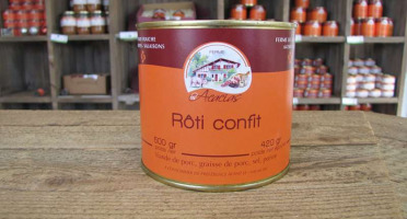 Ferme les Acacias - Rôti Confit