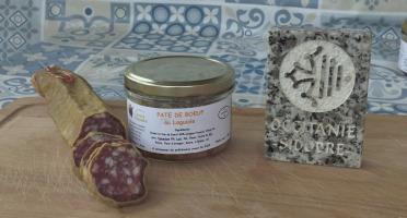 La Ferme du Vayssaïre - Panier Laguiolais ( Paté Et Saucisse Au Laguiole Aop)