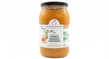 Les Côteaux Nantais - Purée Pommes Mangues 915g Bio Demeter