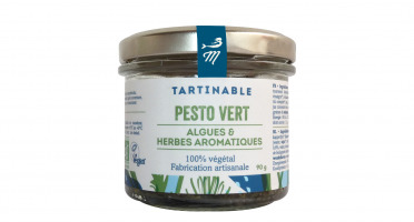 Marinoë - Tartinable Pesto Vert : Algues & Herbes aromatiques