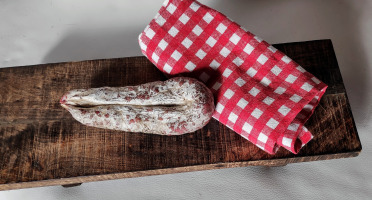 La Ferme Enchantée - Saucisson Sec Traditionnel d'Autruche