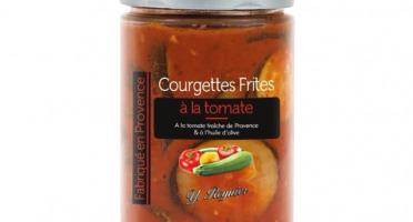 Conserves Guintrand - Courgettes frites à la tomate de Provence YR - bocal 327 ml